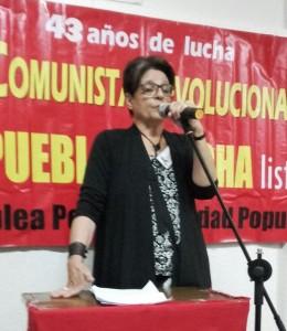 Intervención de Alicia Fernández