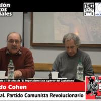 Intervensión de Ricardo Cohen, Sec. General del PCR